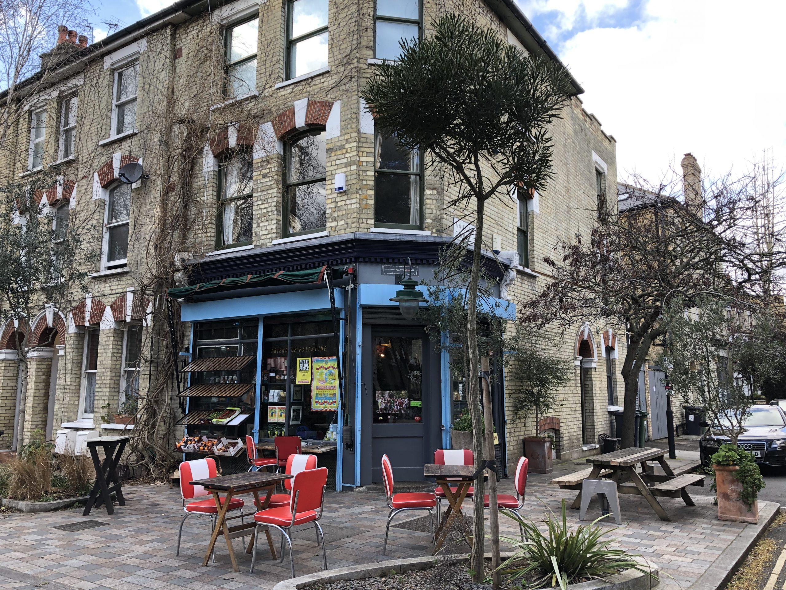 Charming Corner Cafe