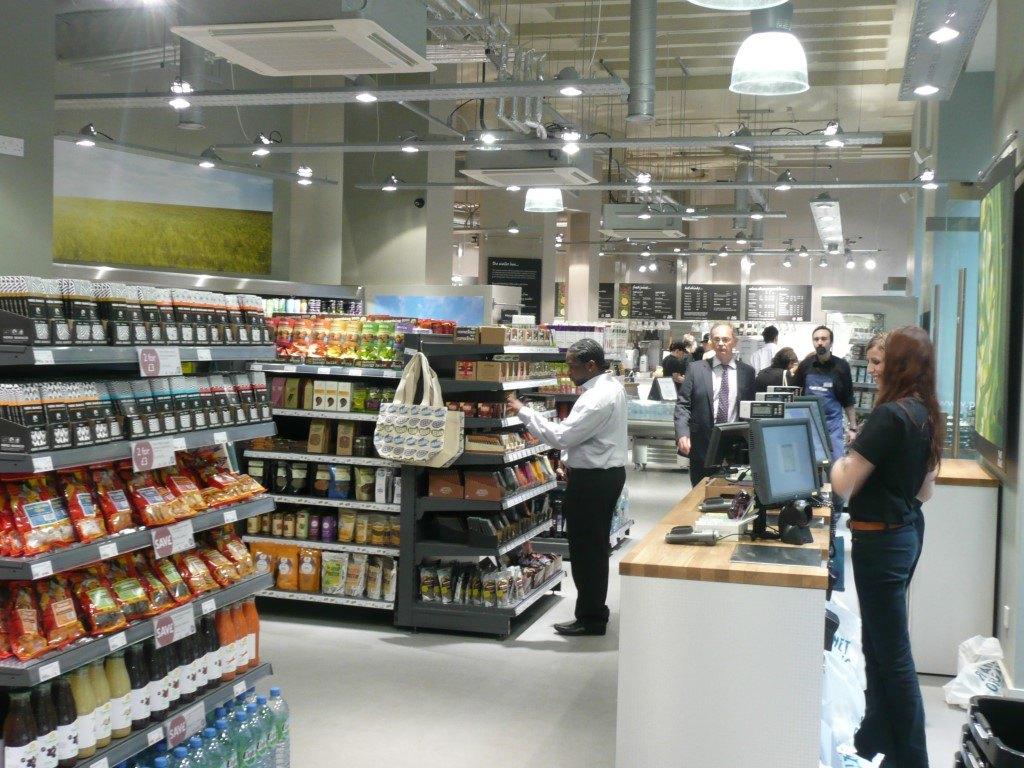 Modern Health Supermarket