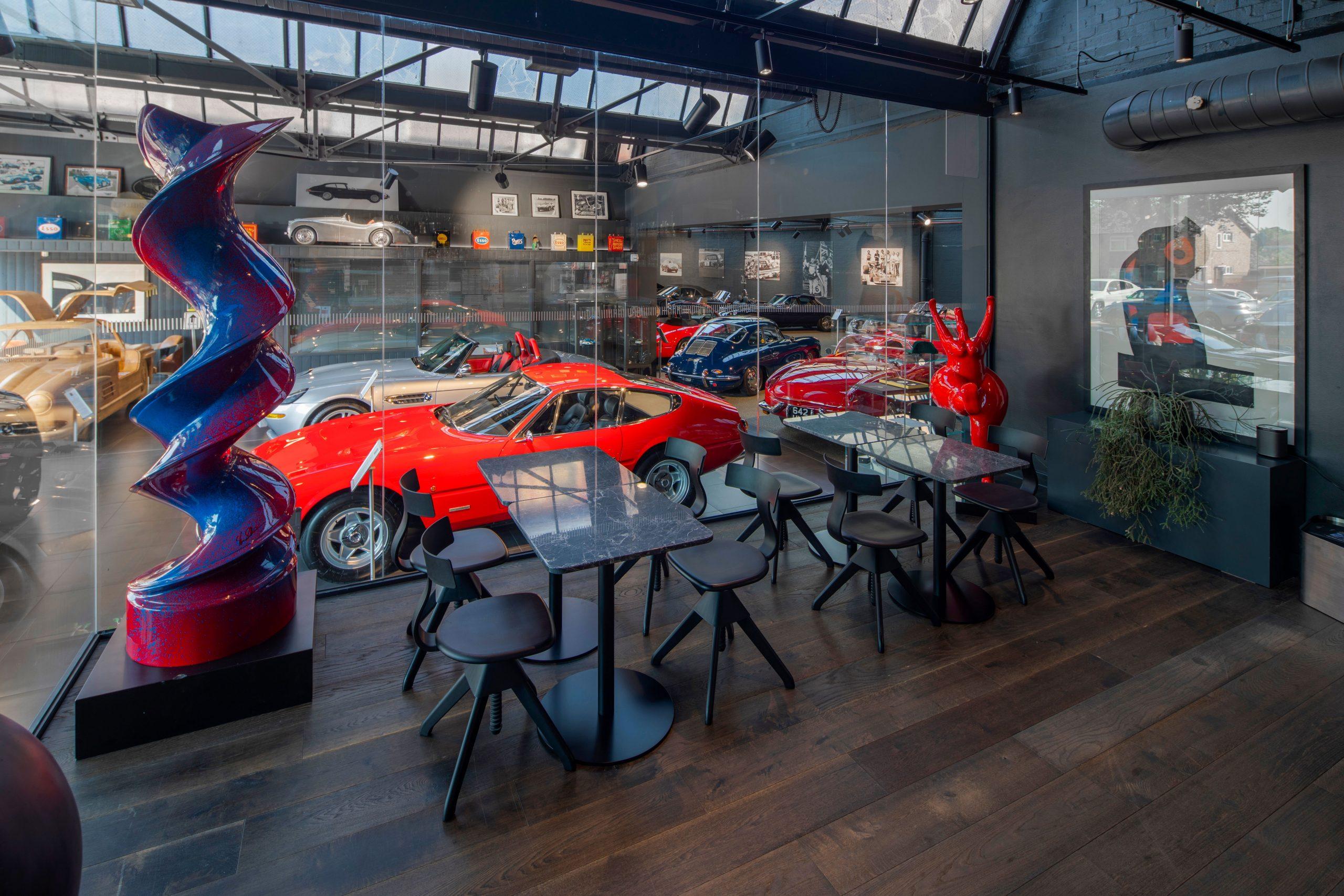 Classic car event space